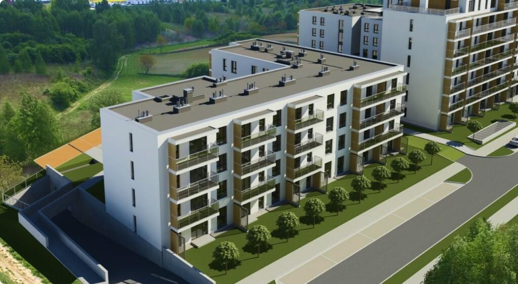 Budynek B1 | Apartamenty WingHouse | Jemiołuszki Lublin